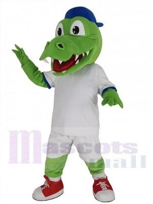 Alligator costume de mascotte