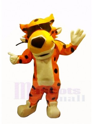 Cool guépard Cheetos Mascotte Costume Dessin animé
