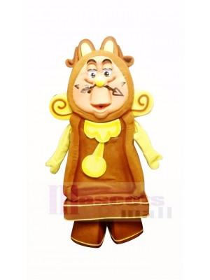Cogsworth L'horloge Mascotte Costume Dessin animé