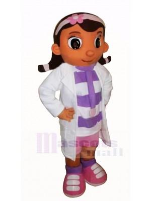 Mignonne Doc Mcstuffins Mascotte Costume Dessin animé