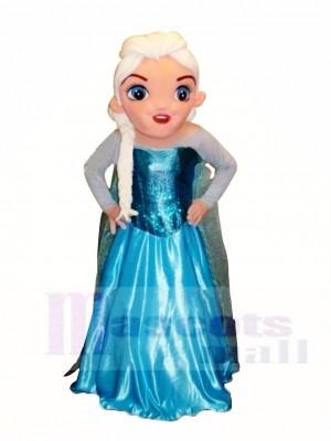 Congelé Elsa Mascotte Costume Dessin animé