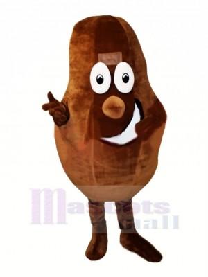 Cacao Haricot Mascotte Costume Dessin animé