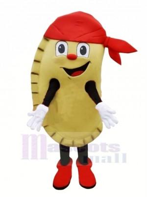 Délicieux Empanada Mascotte Costume Dessin animé