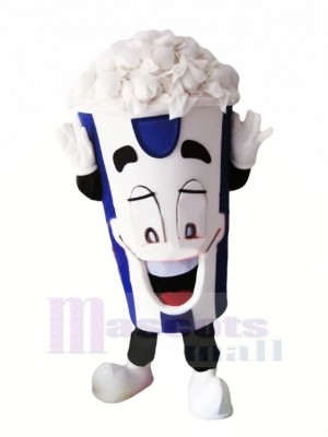 Content Pop corn Mascotte Costume Dessin animé