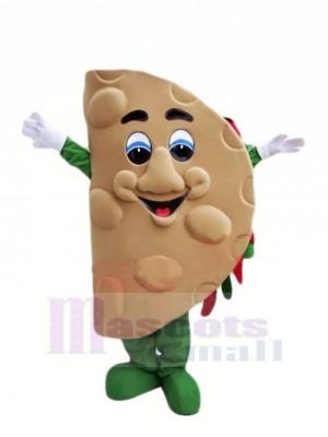 Mignonne Taco Mascotte Costume Dessin animé
