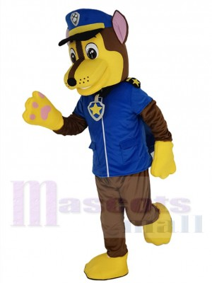 Paw Patrol Chase costume de mascotte
