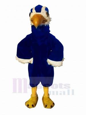Fort Bleu faucon Mascotte Déguisements Dessin animé