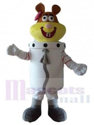 Astronaute Sandy Cheeks Écureuil costume de mascotte