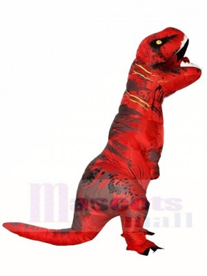 Sombre rouge T-REX Dinosaure Gonflable Halloween