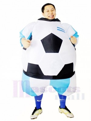 Argentine Football Gonflable Adulte Les costumes Monde Coupe Coup Up Carnaval Costume