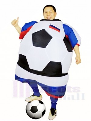 Monde Coupe Russie Football Football Joueur Gonflable Halloween Noël Les costumes pour Adultes
