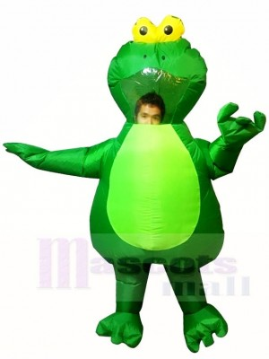 vert Grenouille Gonflable Halloween Noël Les costumes pour Adultes