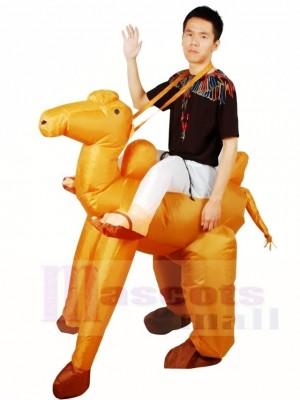 Balade sur chameau Gonflable Halloween Noël Les costumes pour Adultes