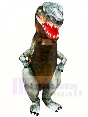 Réel Tyrannosaure T-REX Dinosaure Gonflable Halloween Noël Les costumes pour Adultes