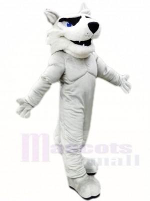Gris Rauque Chien Mascotte Les costumes Animal