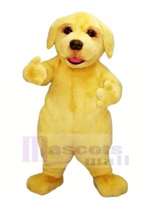 Jaune Velu Chien Mascotte Les costumes Animal