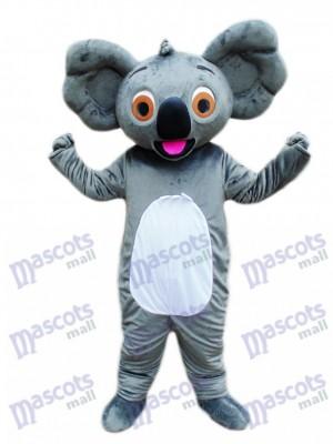Koala avec costume de mascotte de langue rouge Animal