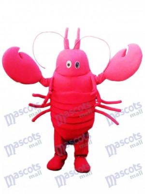Costume de mascotte écrevisse rouge Fruits de mer océan