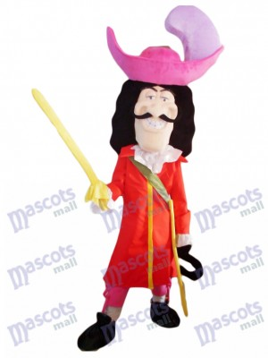 Costume de mascotte de pirate épéiste