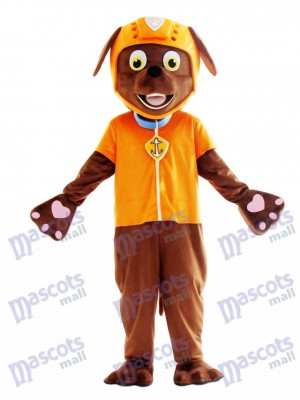 Zuma Patte patrouille Paw Patrol Chocolat Labrador Costume de mascotte de chien Anime de dessin animé
