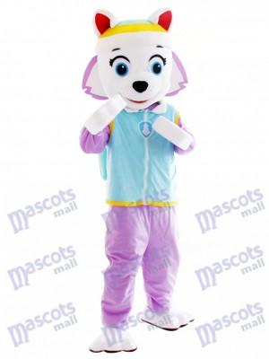 Everest Patte patrouille Chien husky Mascotte Snowy Mountain Pup Anime de dessin animé