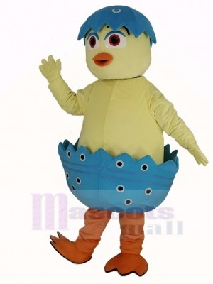 Mignonne Poussin dans Oeuf Mascotte Costume
