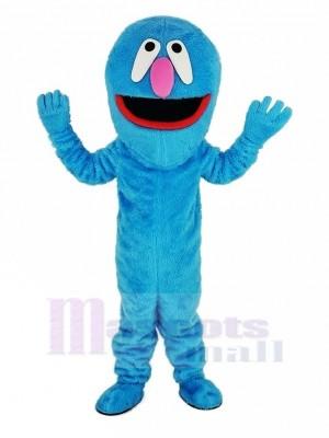 Sesame Street Super Grover Elmo Monstre Mascotte Costume