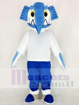 Réaliste Espadon Mascotte Costume Dessin animé