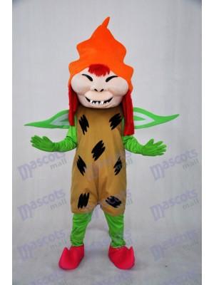 Effrayant Monstre Mascotte Costumes Dessin animé Anime