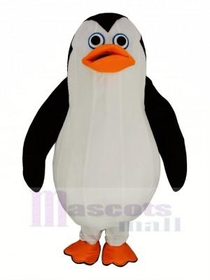 Souriant Marin manchot Mascotte Costume Animal