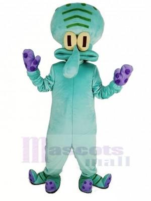 Squidward de Krusty Krab SpongeBob SquarePants Mascotte Costume
