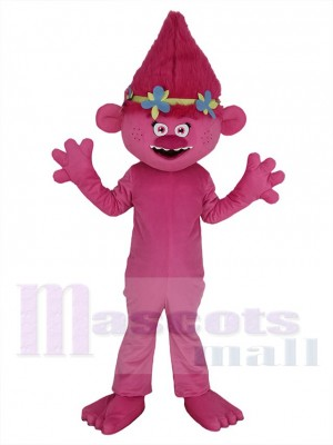 Anna Kendrick Trolls maskottchen kostüm