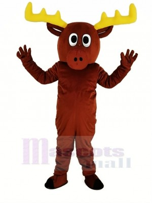 Mignonne Renne Mascotte Costume Animal