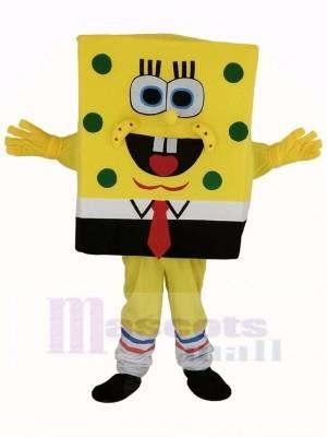 SpongeBob Squarepants Mascotte Costume Dessin animé