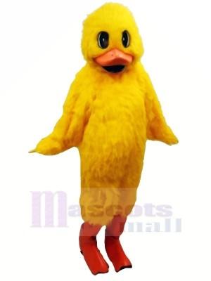Flaques d'eau canard Mascotte Les costumes Dessin animé
