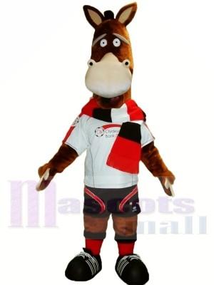 Mignonne Adulte Cheval Mascotte Les costumes Animal