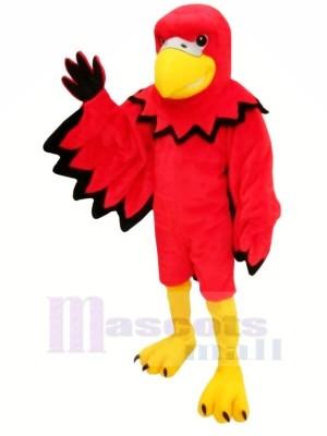 rouge Marrant Oiseau Mascotte Les costumes Dessin animé