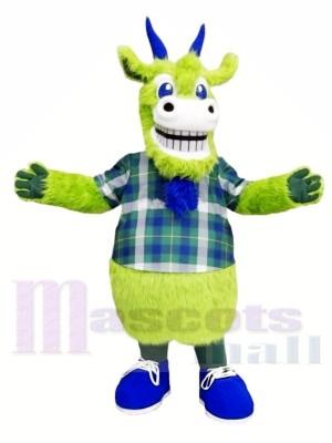 Chèvre verte Costumes De Mascotte