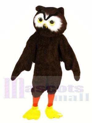 Mignonne marron Hibou Costumes De Mascotte