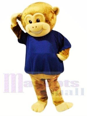 marron Singe Costumes De Mascotte Animal