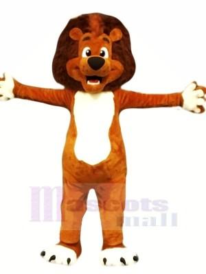 Qualité Lion Mascotte Les costumes Dessin animé