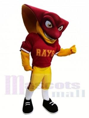 École secondaire Stingray puissant Costume de mascotte