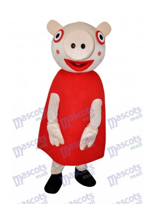 Super mignon Peppa Pig Costume de mascotte adulte Animal