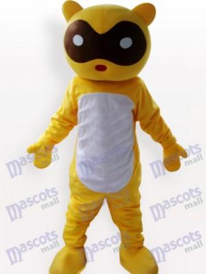 Costume drôle de mascotte adulte de raton laveur