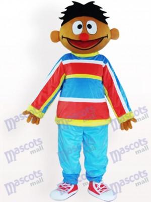 Costume de mascotte adulte Ernie Orange Sesame Street Ernie