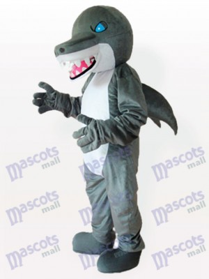 Costume de mascotte adulte Blue Eyes Shark