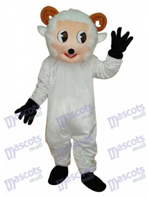 Peu Mouton Mascotte Adulte Costume Animal