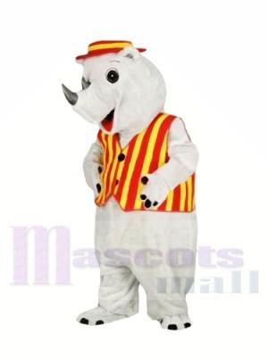Qualité supérieure Poids léger Rhinocéros adulte Costumes De Mascotte