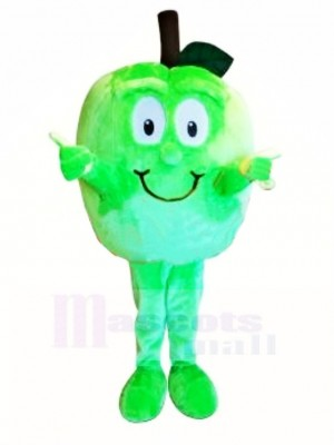 Qualité supérieure Pomme verte Costume de mascotte