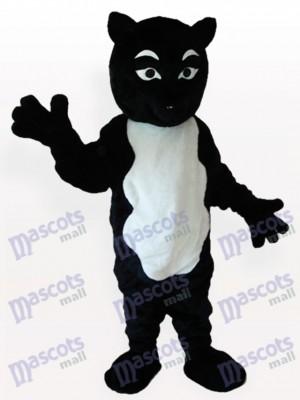 Costume de mascotte adulte Skunk noir